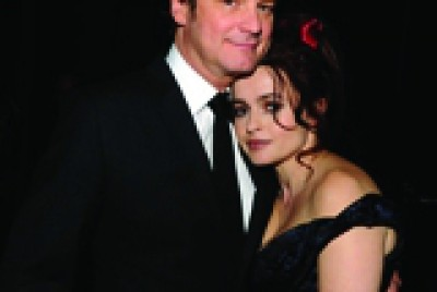 Colin Furth and Helena Bonham Carter