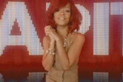 Rihanna in Capital radio campaign