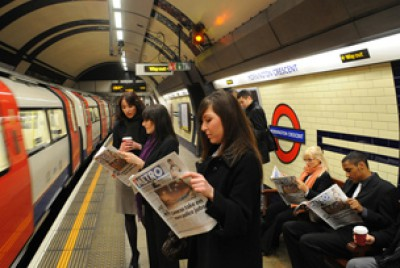 Tube newspapers