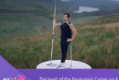 BT Paralympic ident