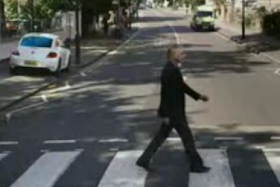Channel 4 Paul Weller Volkswagen Abbey Road ad