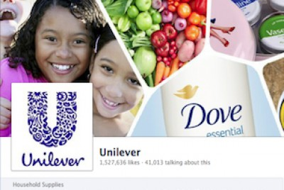 Unilever Facebook page