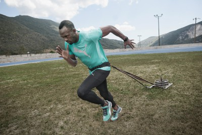 Puma, which has long-term ties with Usain Bolt, encourages fans to tweet about the brand by giving access to exclusive content
