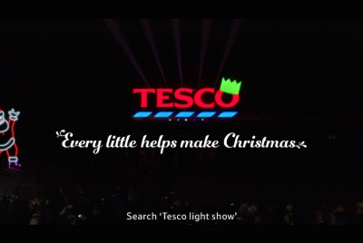 Tesco reveals 'Every Little Helps Make Christmas' campaign.