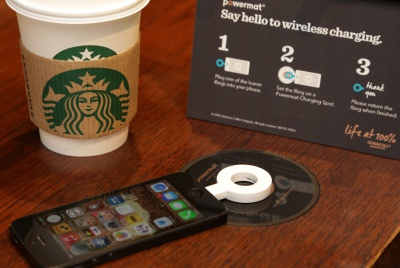 Starbucks Powermat Launch 1