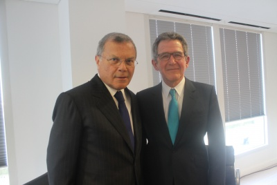 Ogilvy Pride - Sir Martin Sorrell and Lord Browne
