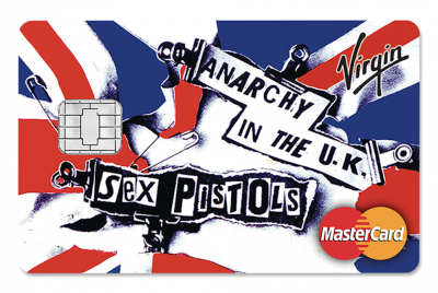 Anarchy in the UK card