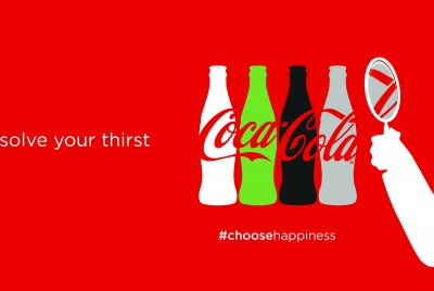 coca-cola happiness