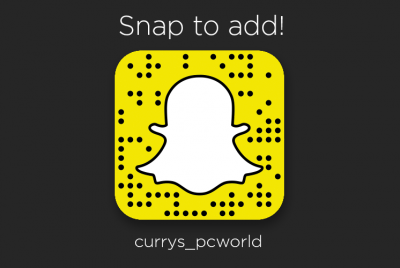CurrysPCWorld - Snap Chat