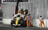 Renault F1 crash