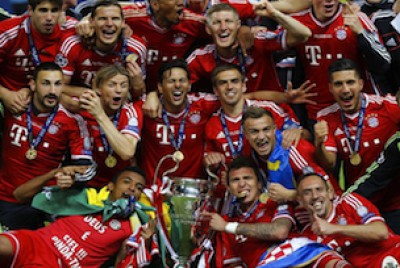 Bayern Champions League winners