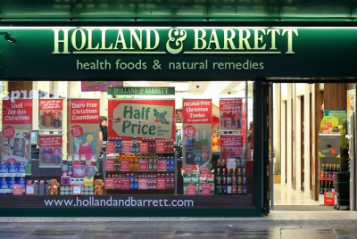 Holland & Barrett's promotions aim to persuade consumers to buy products based on benefits rather than price