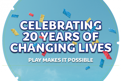Camelot is celebrating 20 years of the National Lottery with a nationwide campaign.
