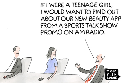 Focus group of one Marketoonist 2 7 15