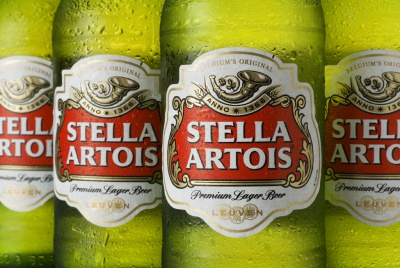 Stella Artois is one of the brands owned by AB Inbev